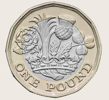 新1ポンド硬貨